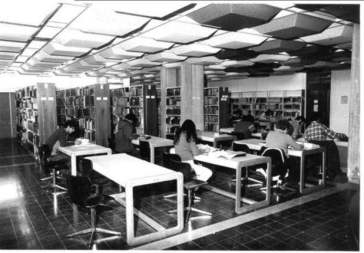 אולם קריאה 03, תחילת שנות השבעים (מקור: ארכיון טוביהו)