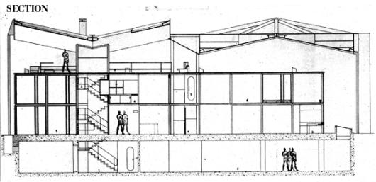 50fc6fd5b3fc4b068c00006b_ad-classics-centre-le-corbusier-heidi-weber-museum-le-corbusier_section