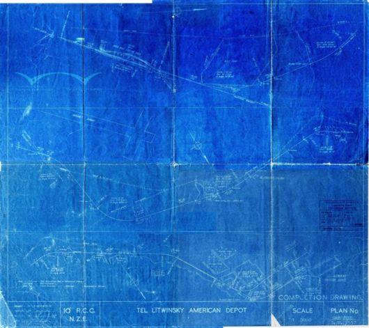 PR Eng. Drg. C-4-54 - Tel Litwinsky Line - 23.06.1943