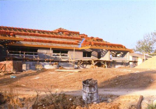 1987 בניית חדר האוכל