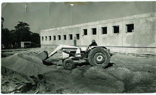 בניה חדר אוכל 1974