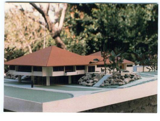 דגם חדר אוכל ינואר 1986