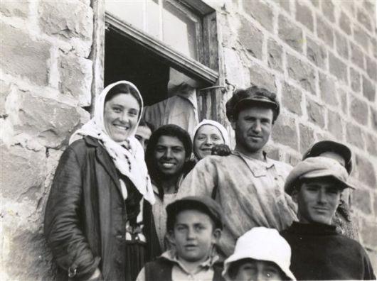 הדסה והחברה בית ראשונים שנות 30