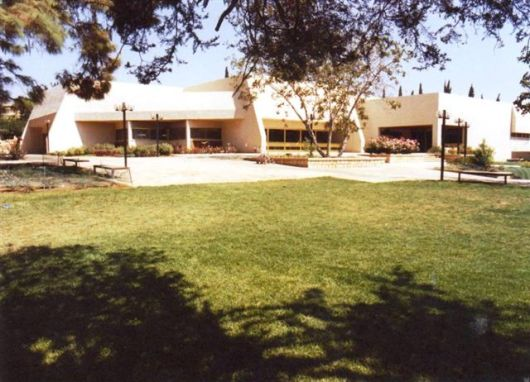 חדר אוכל  חזית חדר אוכל 1985 4 (2)