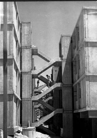 בניית הסינג סינג בשדרות התמרים 1960