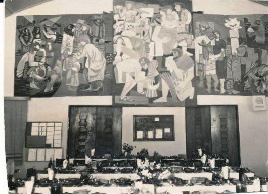 חדר אוכל 1957