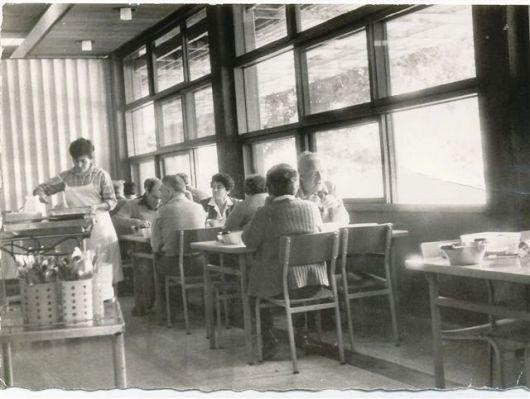 חדר אוכל 1961