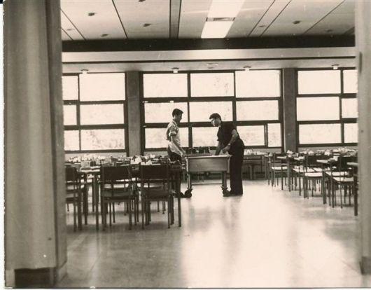 חדר אוכל 1965