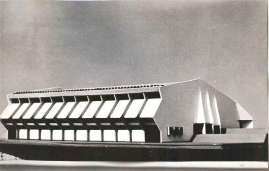 דגם אולם הספורט 1977