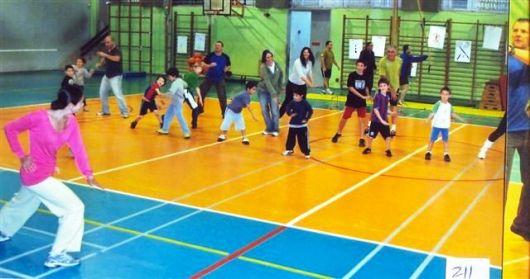 פעילות למשפחות באולם הספורט 2012