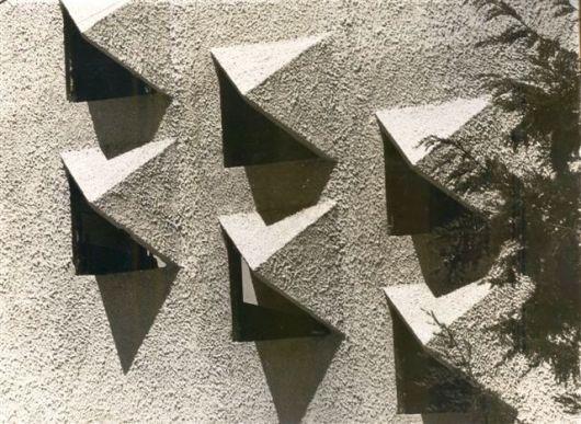 קיר מערבי לאולם הספורט למבואה 1978