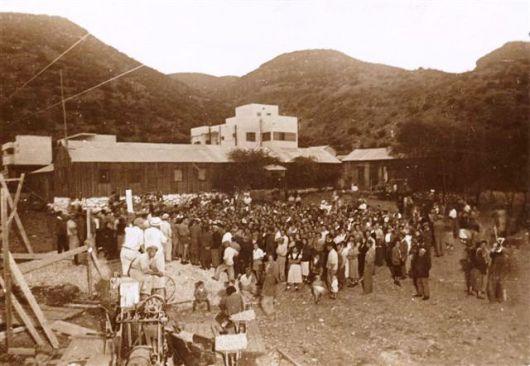 יריית אבן הפינה 1935