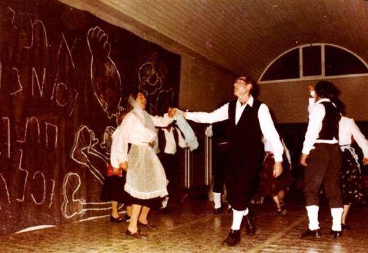 הופעה בבית הקשתות בשנות השיבעים