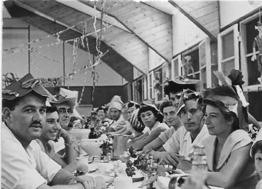 חדר אוכל אורים צריף פורים כנראה 19550016