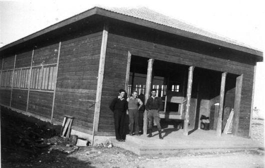 חדר האוכל בשנות הארבעים