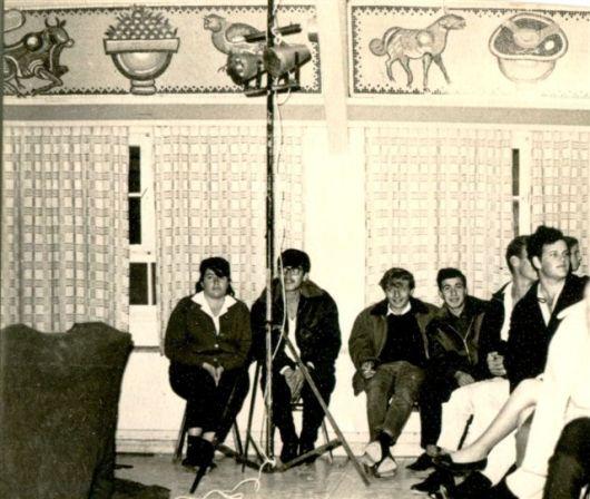 חדר האוכל הישן צילום מ1965