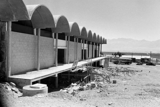 מרכז רכטר בבניה, ברקע תחנת אגד (מקור-אתר אגד)
