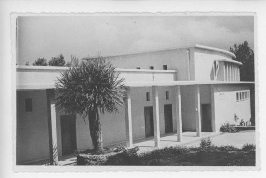 t365 בנין האולפן עש הנשיא הראשון ויצמן 1949 אוסף עדה